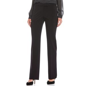 NEW! Anne Klein Woven Trousers Black - 4
